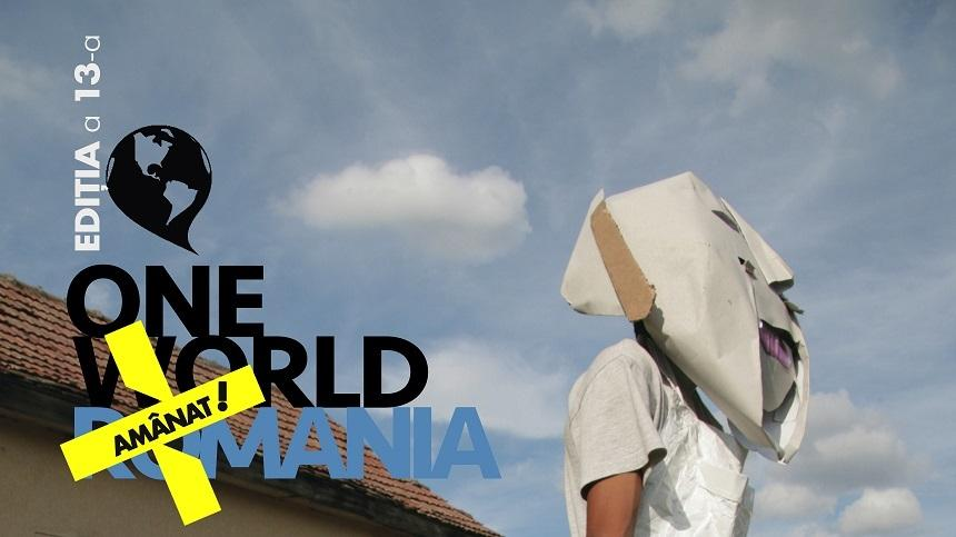 Cea de-a 13-a ediţie a festivalului de film documentar şi drepturile omului One World Romania, amânată