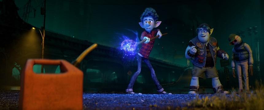 """Animaţia """"Onward"""", unul dintre cele mai slabe debuturi ale Pixar în box office"""