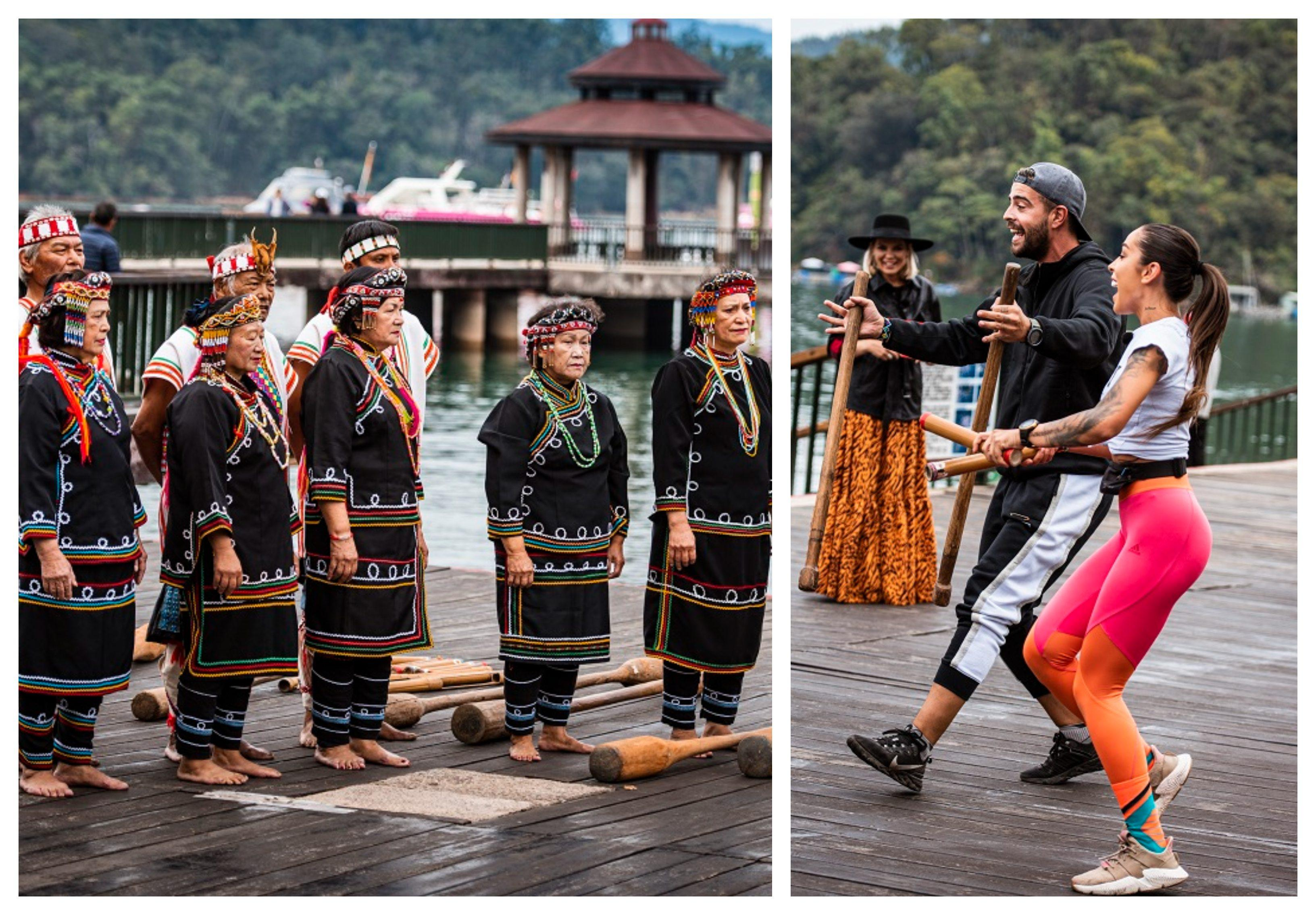 """""""Asia Express"""" a doborât un nou record de audienţă! Speak şi Ştefania au câştigat jocul de amuletă! Urmează o provocare inedită pentru concurenți, într-un trib din Taiwan! Primele imagini! FOTO"""