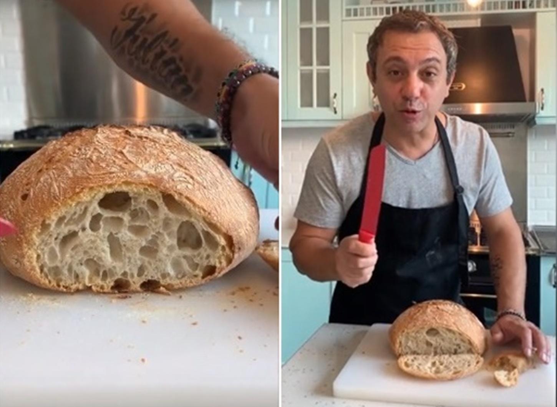 Rețeta de pâine a lui chef Sorin Bontea, cu doar un gram de drojdie