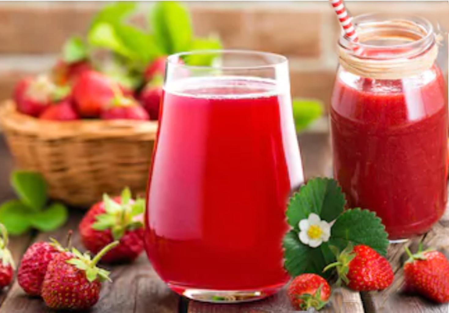 Sirop de căpșuni și Nectar de căpșuni. Două rețete cu căpșuni pentru cămara noastră