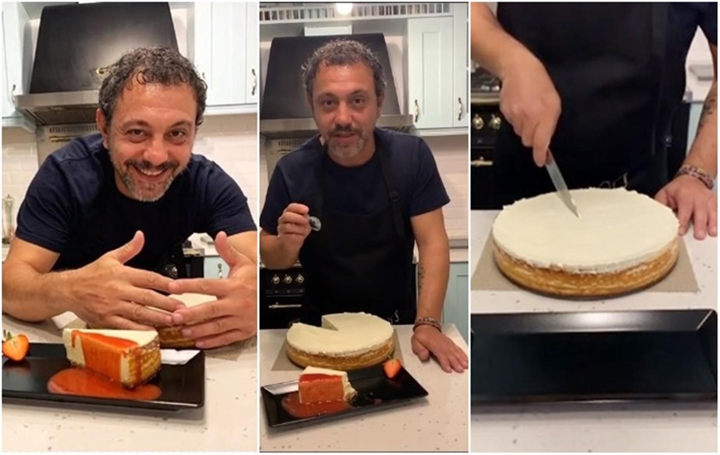 Cum putem prepara cel mai savuros cheesecake cu lime - Rețeta lui Chef Sorin Bontea