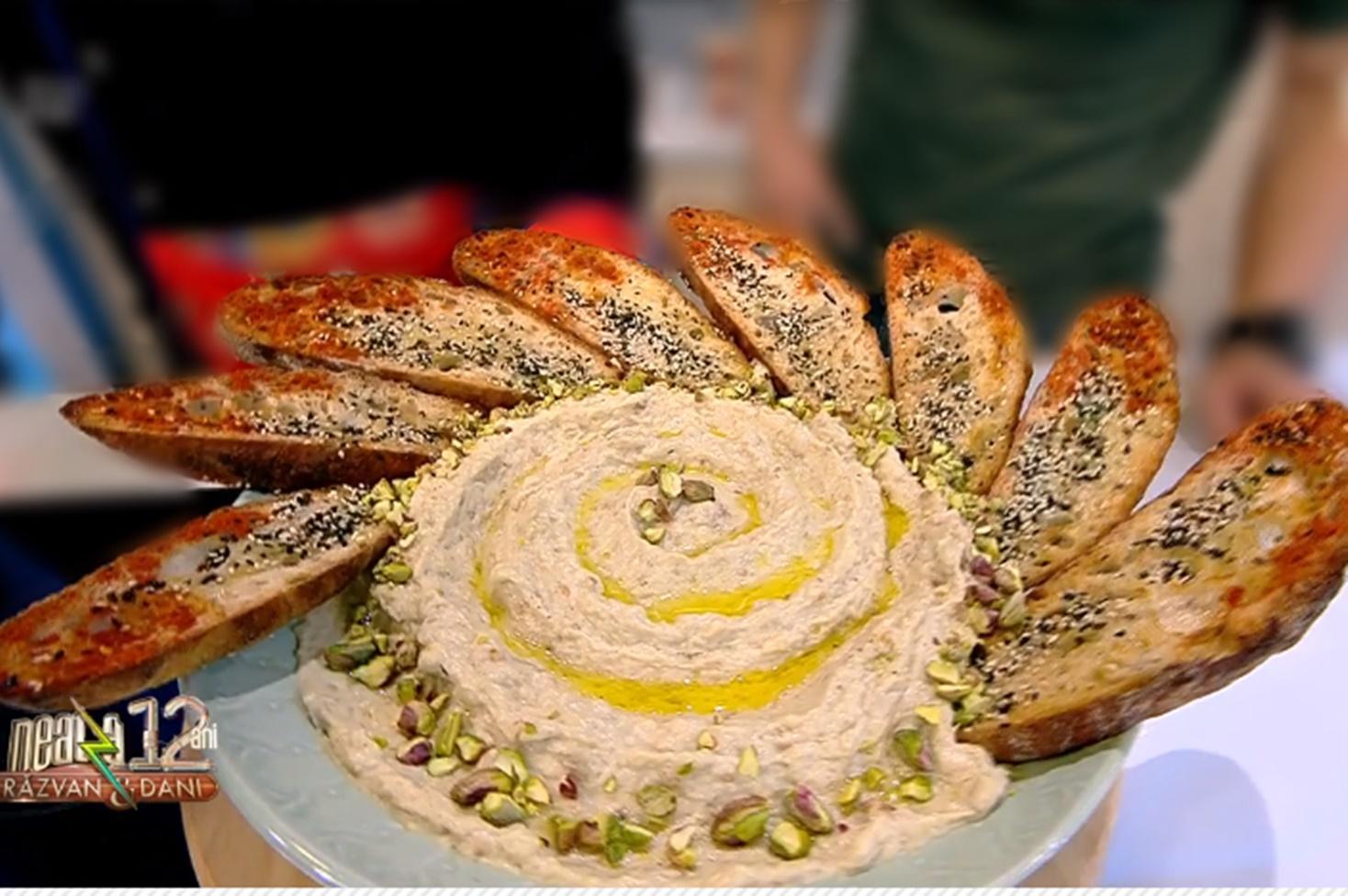 Cea mai gustoasă Salată de vinete orientală - Baba Ganoush!