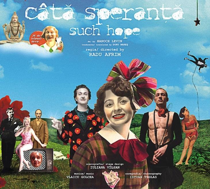 """Spectacolul """"Câtă speranţă"""" regizat de Radu Afrim, online la Teatrul Odeon"""