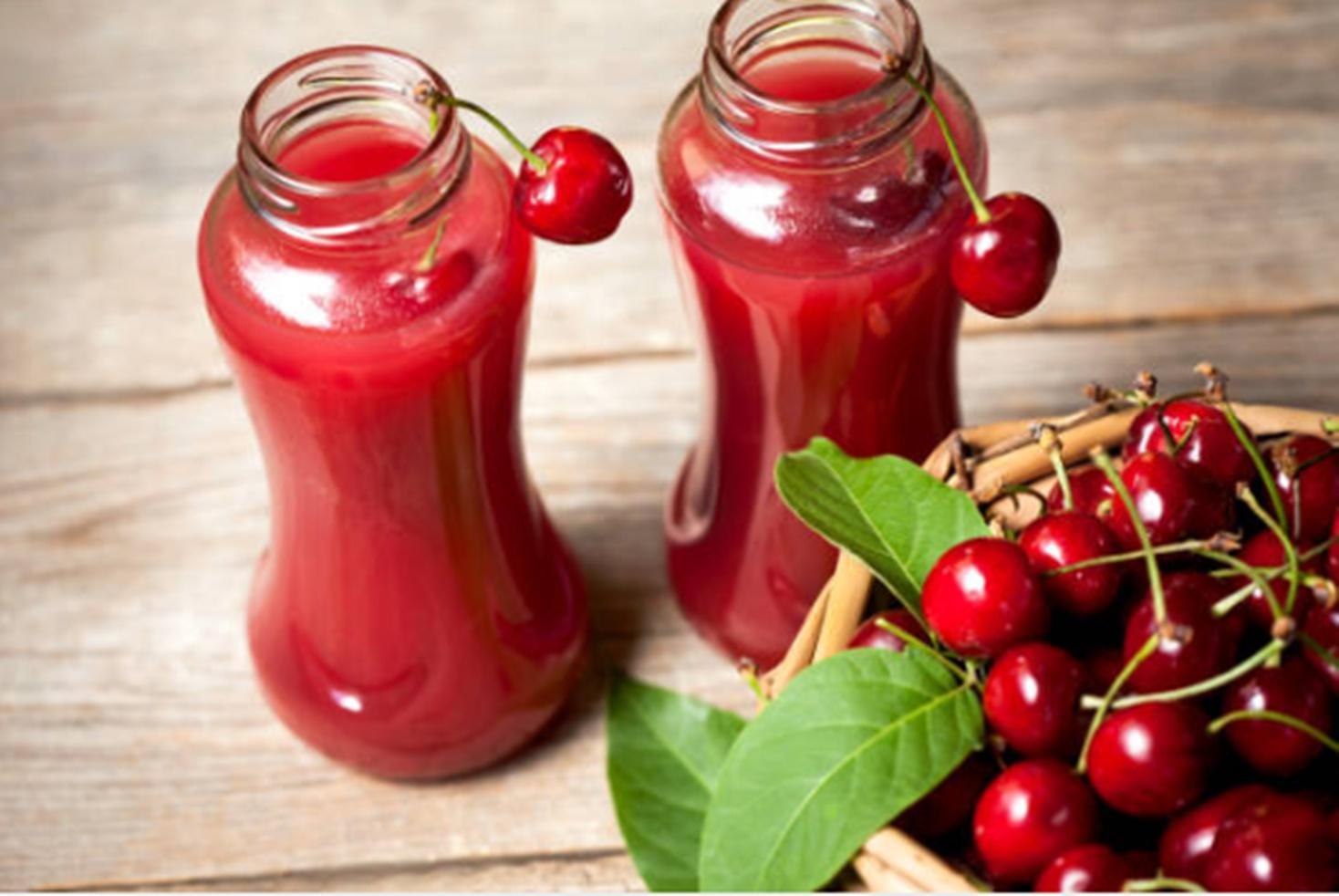 Nectar de cireșe natural și fără conservanți