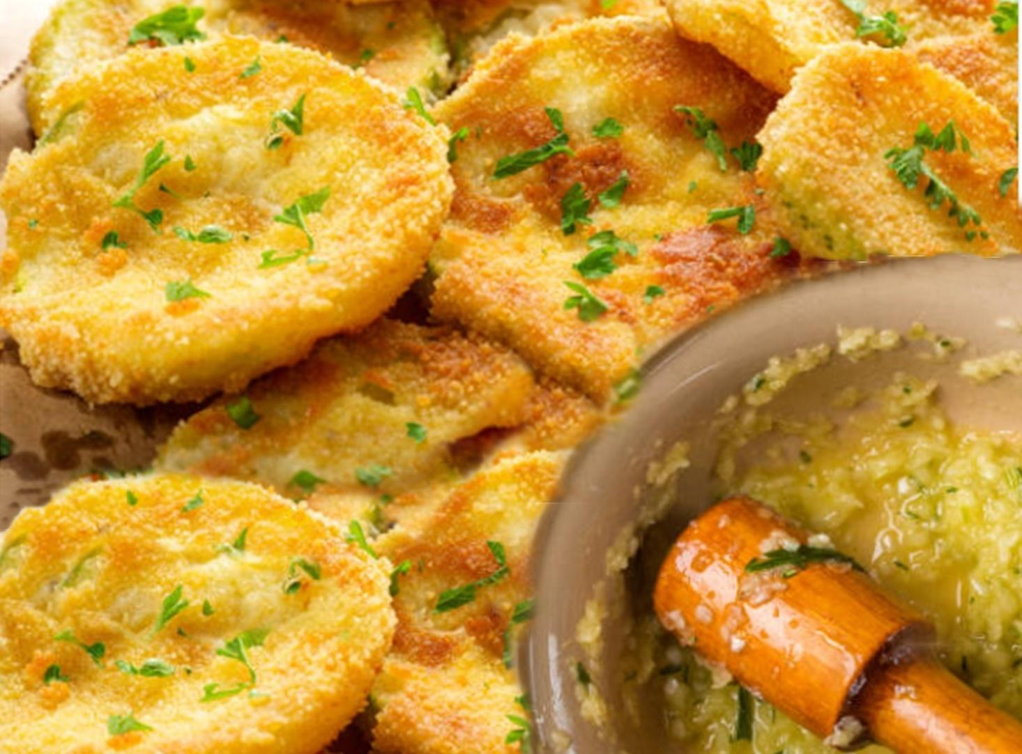 Dovlecei pane cu mujdei de usturoi. Rețeta tradițională românească ca la bunica