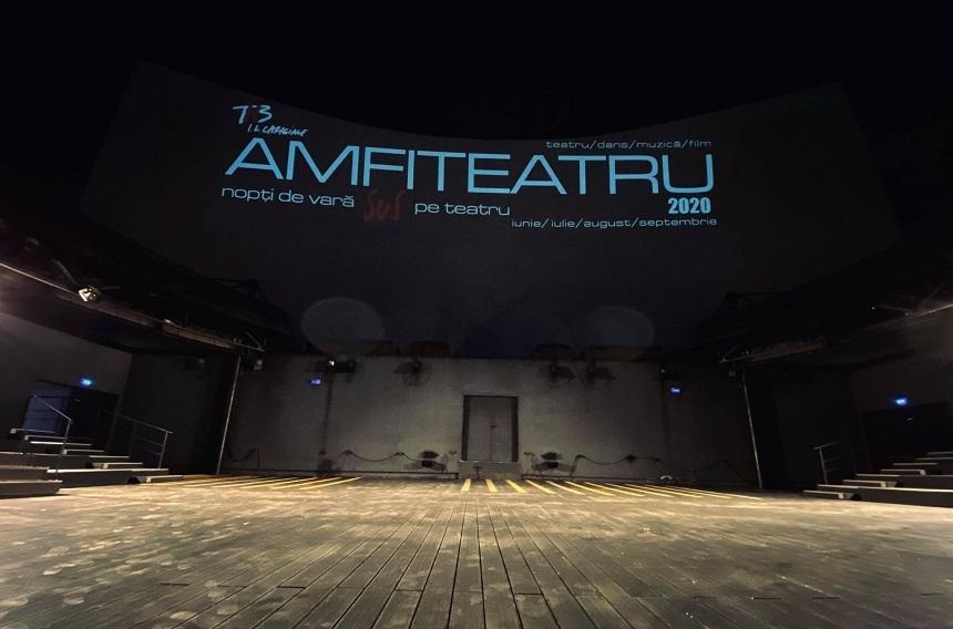 Teatrul Naţional din Bucureşti redeschide luna aceasta Amfiteatru TNB