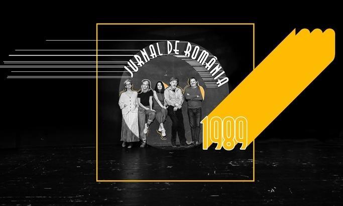 """""""Jurnal de România. 1989"""", prima premieră a Teatrului Naţional Bucureşti în perioada pandemiei"""