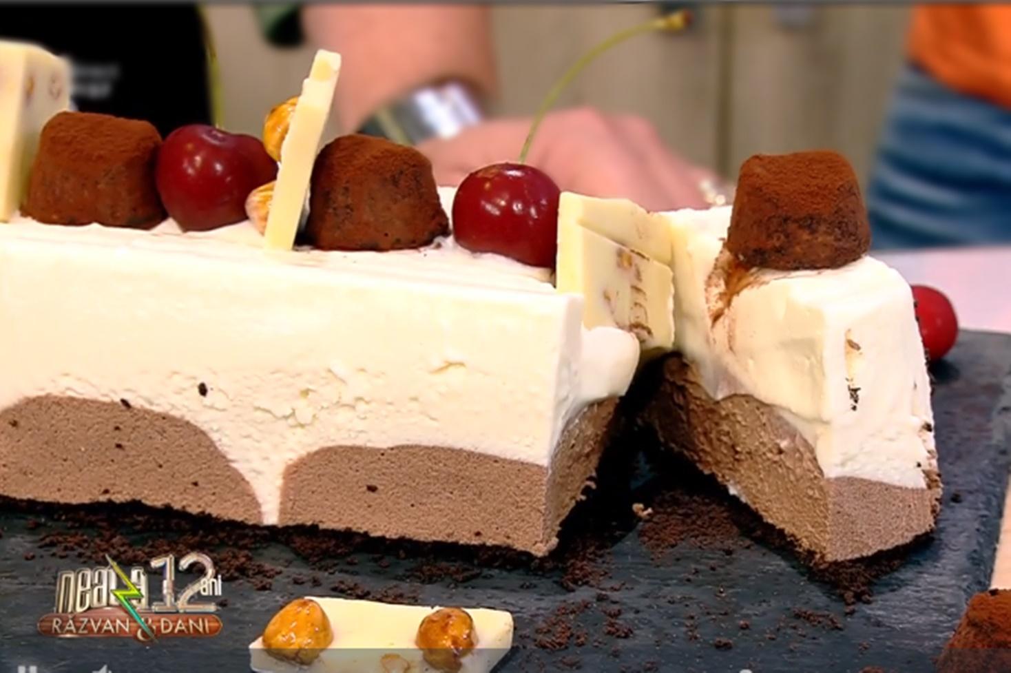 Parfait de ciocolată. Rețetă de înghețată cu ciocolată în două culori