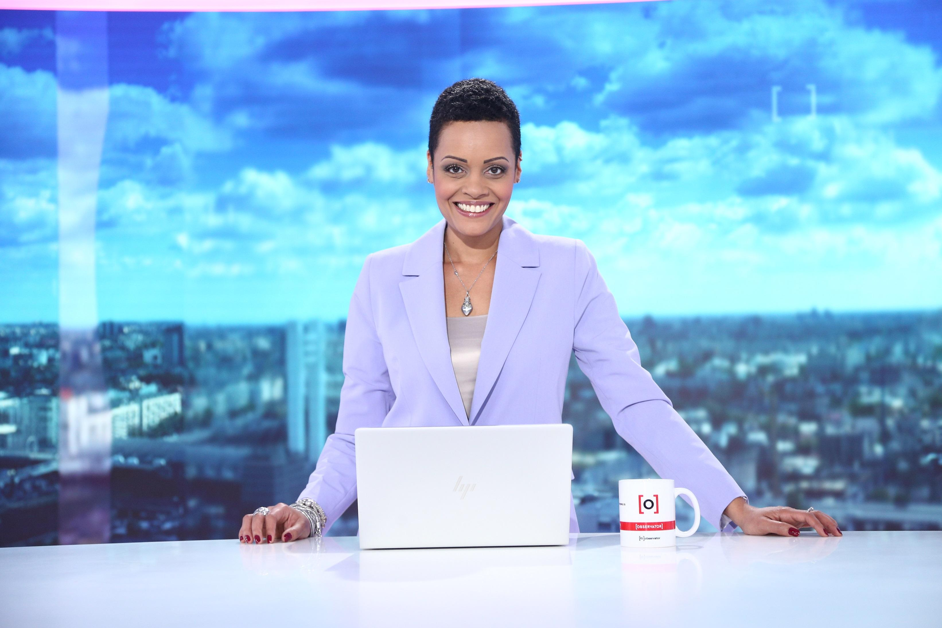 """Laura Nureldin prezintă Observatorul din weekend, de la Antena 1: """"Munca în televiziune am iubit-o și o s-o iubesc mereu"""""""