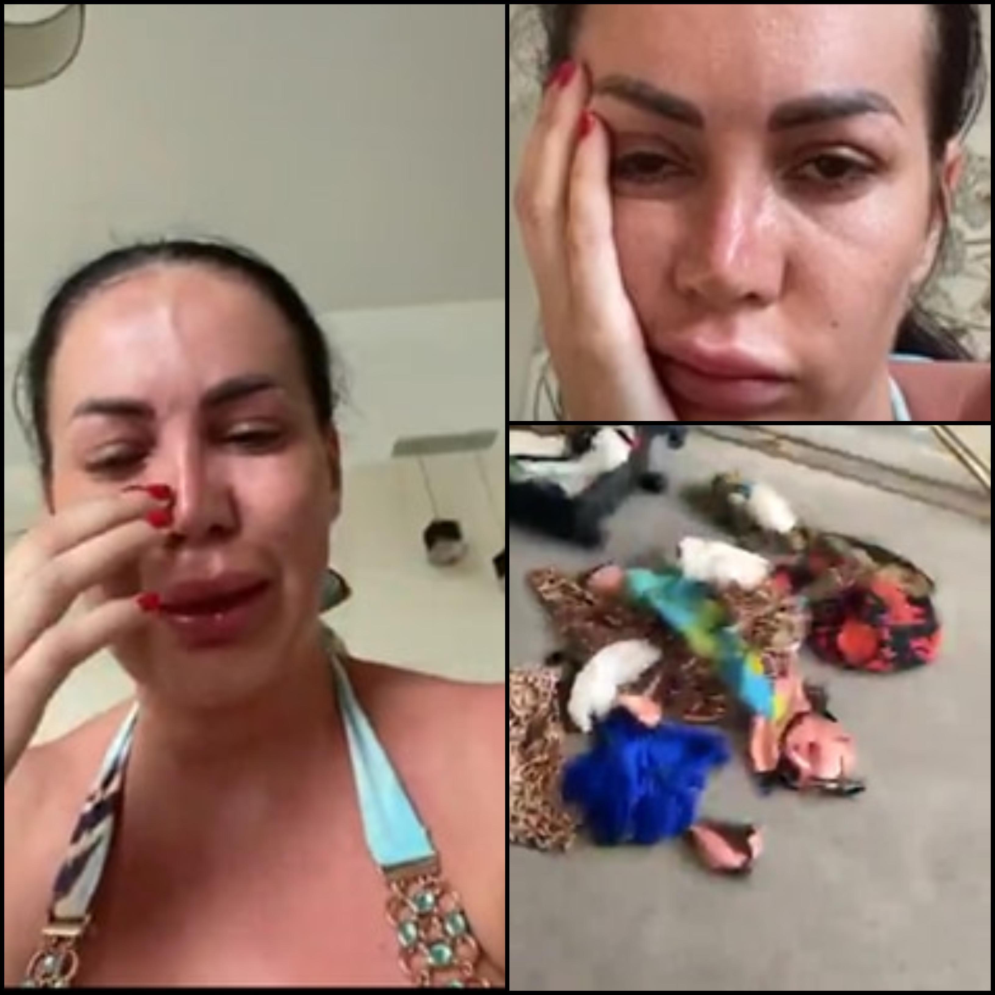 """FOTO   Bianca Pop, fosta ispită de la Insula Iubirii, a fost bătută și scuipată la mare. """"Mi-au aruncat hainele în stradă și m-au scuipat pe față"""""""