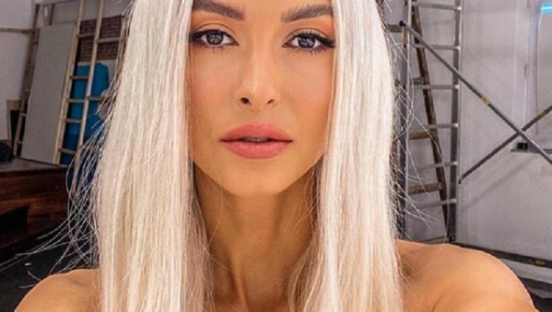 Ce veste a dat Andreea Bălan pe Instagram