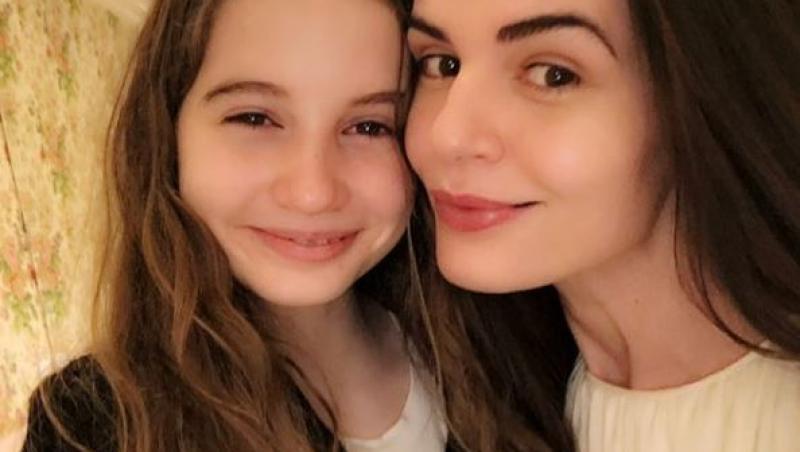 Fiica Monicăi Gabor și a lui Irinel Columbeanu
