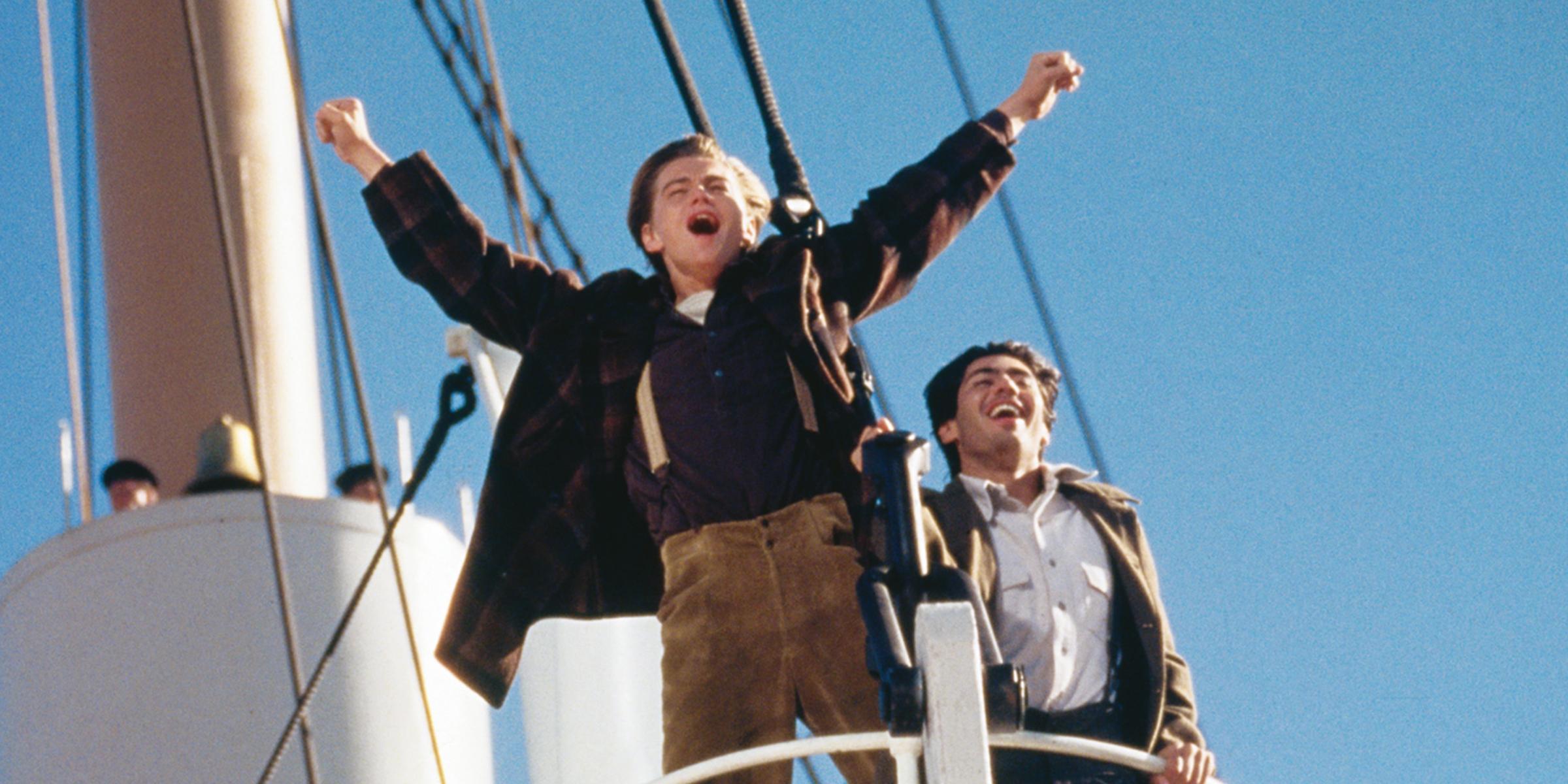 """VIDEO   Replica celebră din """"Titanic"""" pe care Leonardo DiCaprio n-a vrut s-o spună"""