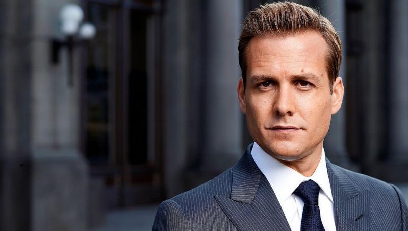 Gabriel Macht, actorul care-l joaca pe Harvey Specter în Suits, captura din serial
