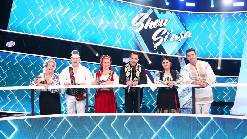 """Liviu Vârciu, Mirela Vaida și Andrei Ștefănescu, în platoul emisiunii """"Show și-așa"""" de la Antena 1"""