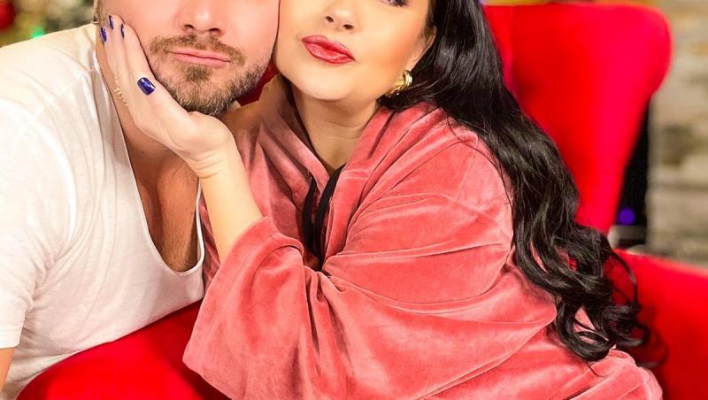 Tavi Clonda alături de soția sa, Gabriela Cristea