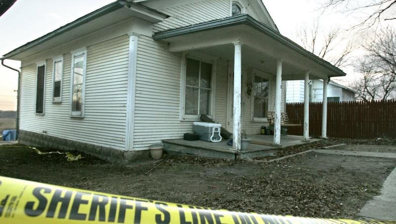 casa in care lisa montgomery a ucis o femeie si i-a furat copilul
