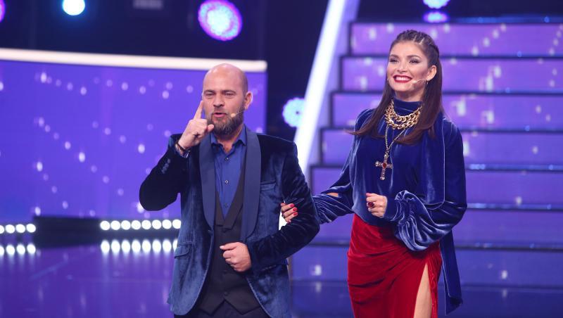 Alina Pușcaș, superbă în brațele soțului