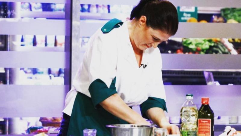 Marlena Botezatu, gătind în sezonul 5 Chefi la cuțite