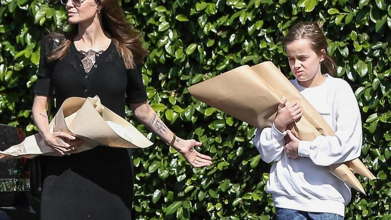 Angelia si Vivienne Jolie-Pitt