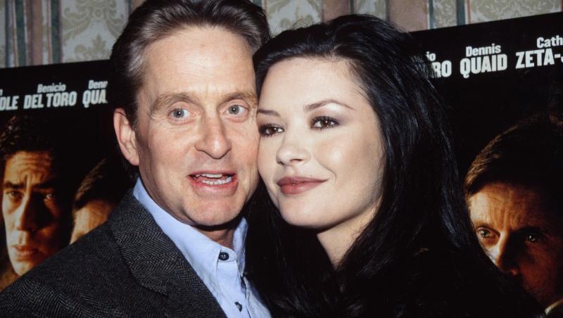 Michael Douglas și Catherine Zeta-Jones