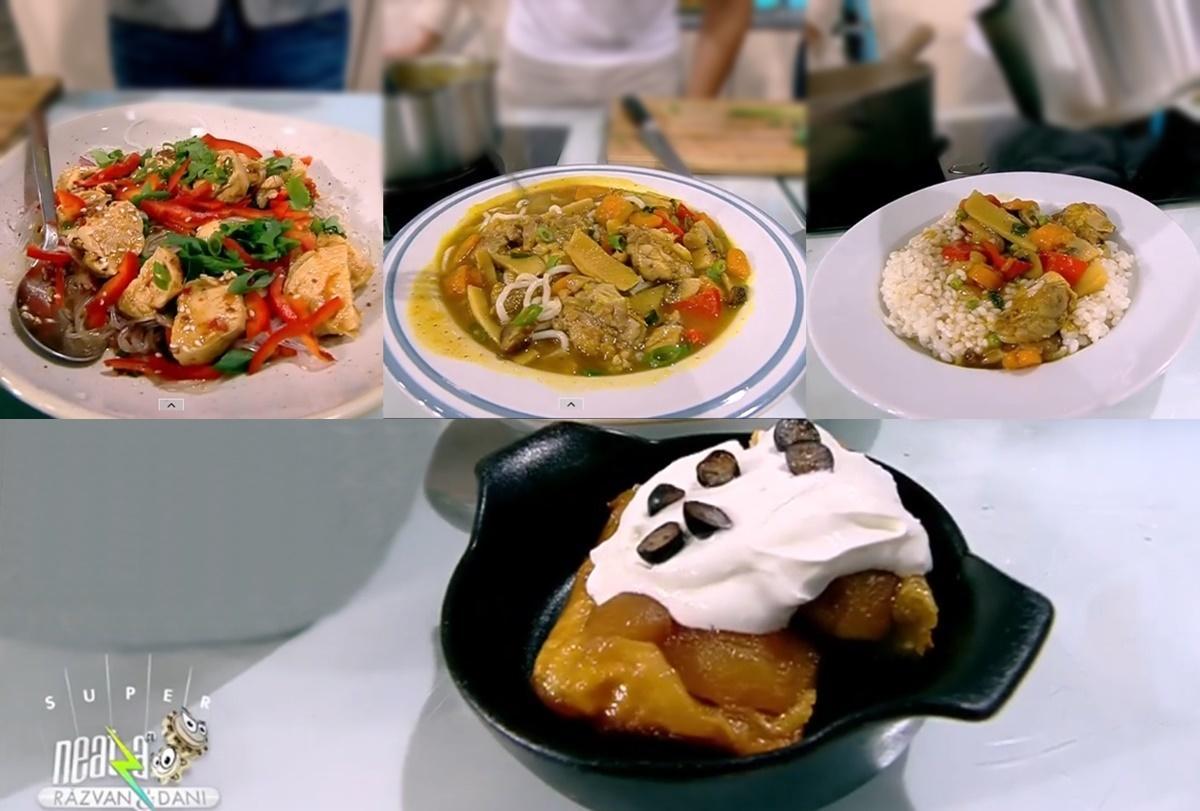 Rețeta zilei preparată de chef Nicolai Tand la Super Neatza, 13 octombrie 2021. Curry Udon Noodle cu pui și ciuperci
