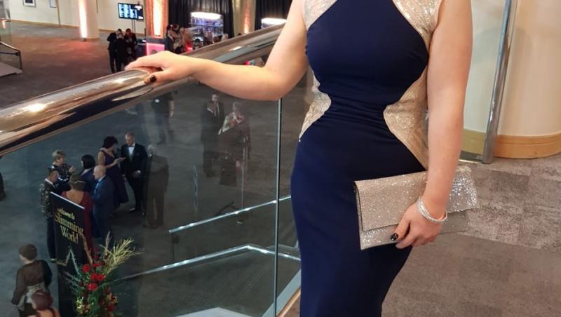 Cassie Percival dupa ce a slabit 32 de kilograme