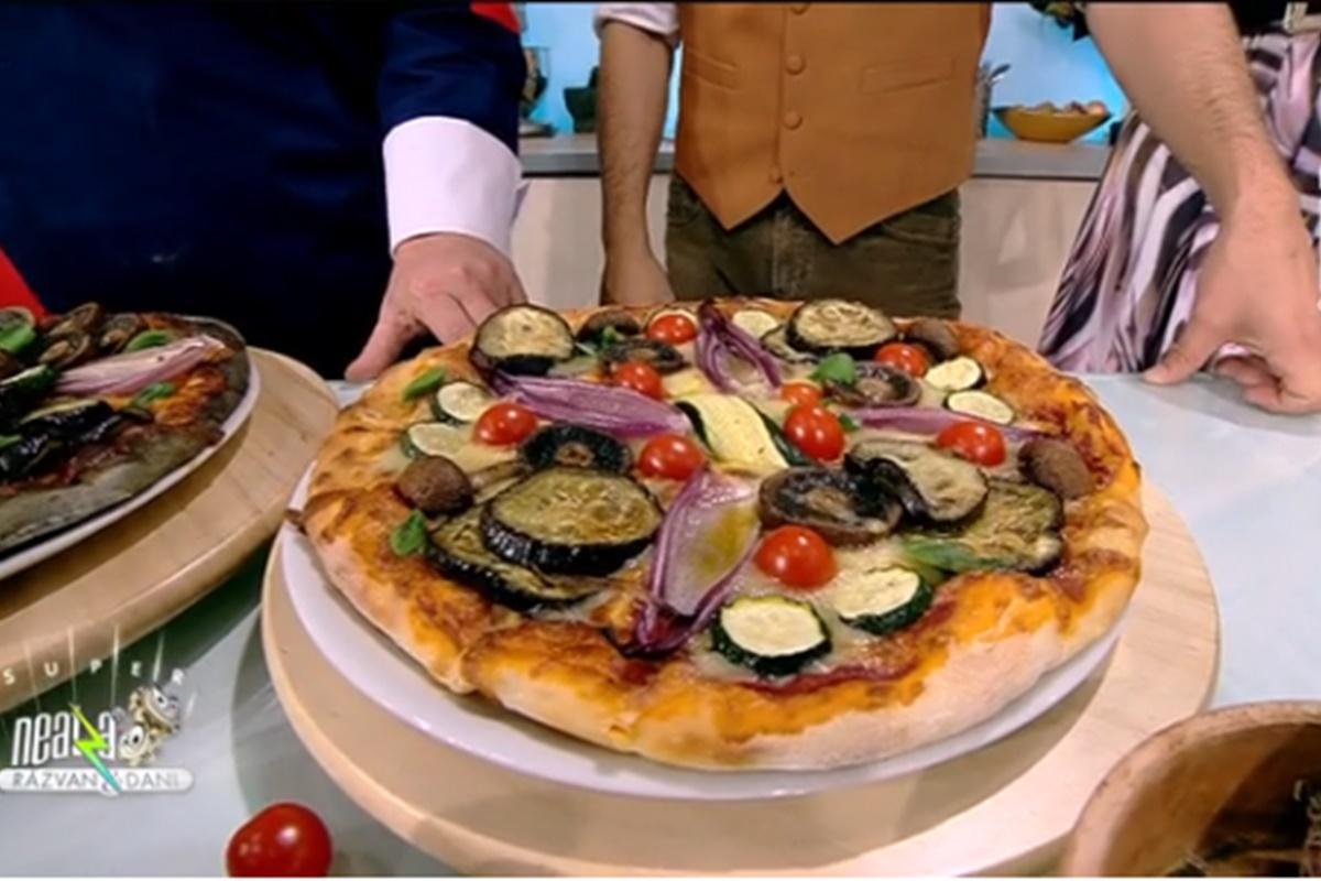 Rețeta zilei preparată de Vlăduț la Super Neatza, 14 octombrie 2021. Pizza cu legume de toamnă