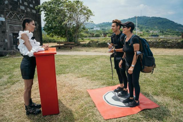 Patrizia Paglieri, Francesco si Irina Fodor, la Asia Express - Drumul Imparatilor