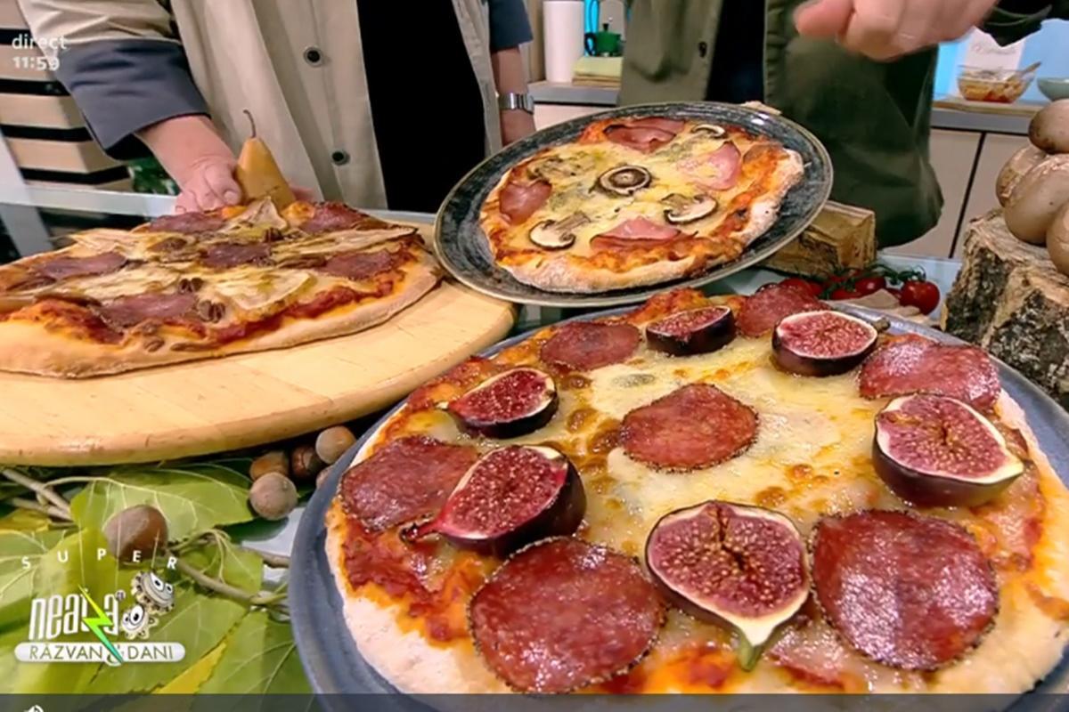 Rețeta zilei preparată de Vlăduț la Super Neatza, 21 octombrie 2021. Pizza cu șuncă preparată în patru moduri