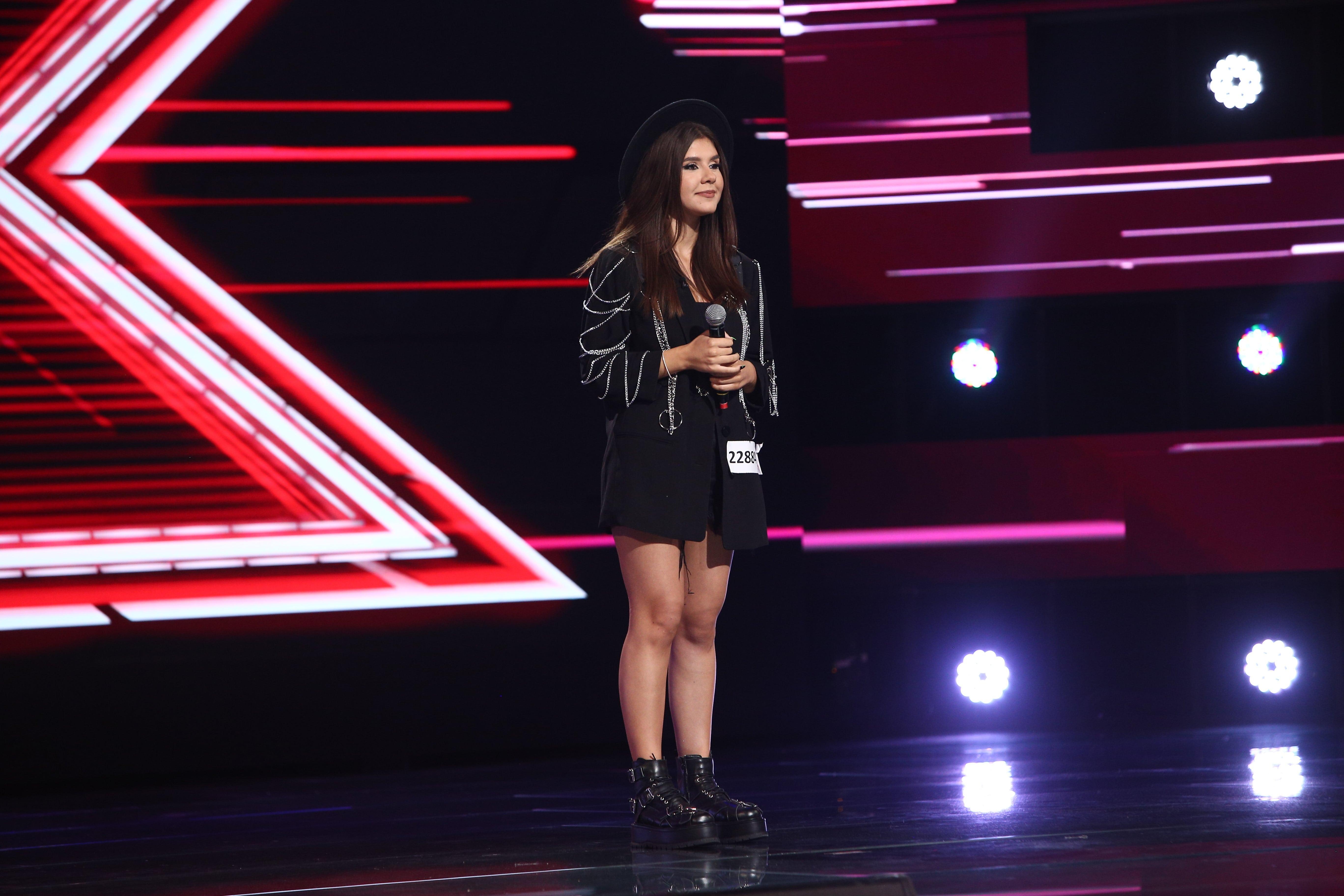 """X Factor 2021, 22 octombrie. Ana Maria Mustia a interpretat piesa """"Le parole lontane"""" și nu i-a cauzat deloc probleme"""