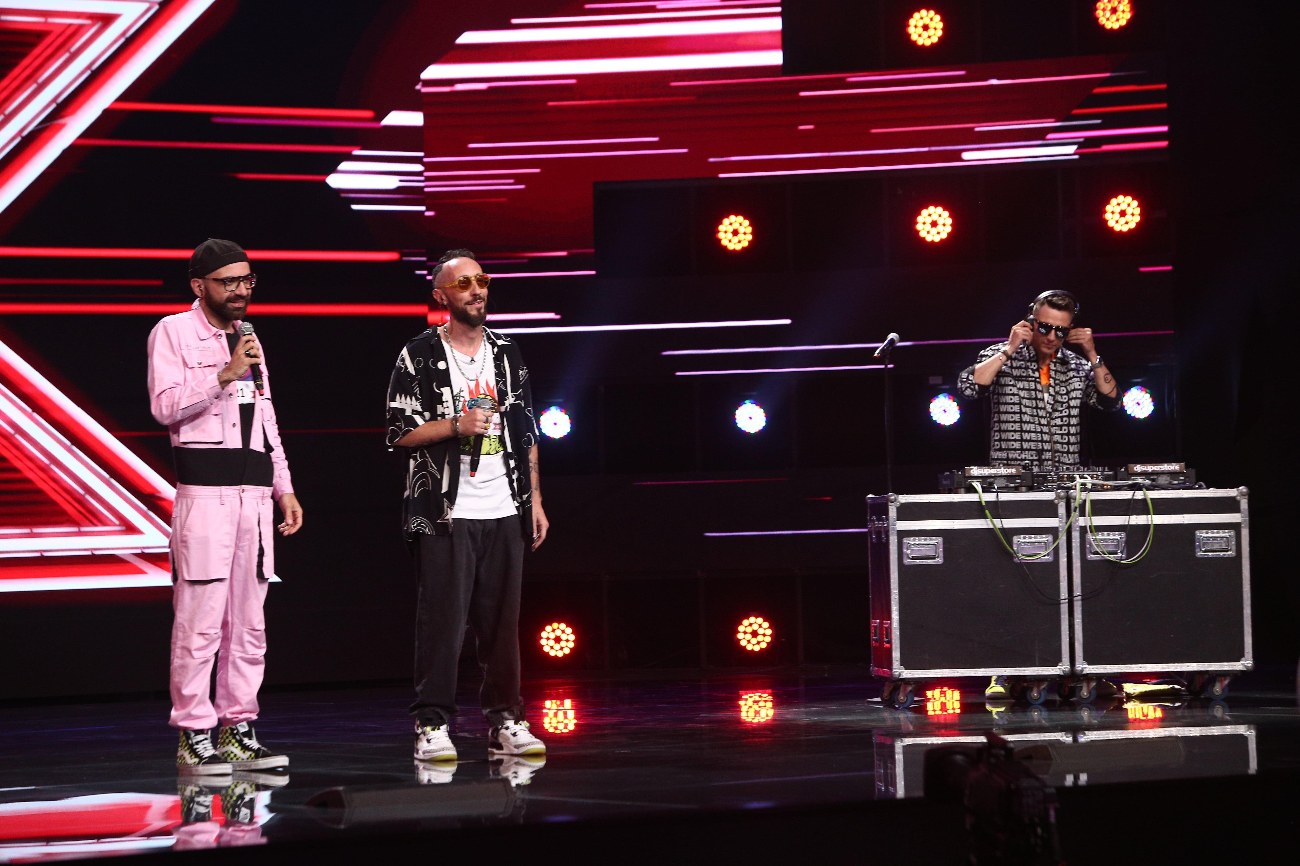 X Factor 2021, 22 octombrie. Le Teste Di Ozzak și-au inventat propriul gen muzical și au fost felicitați de jurați