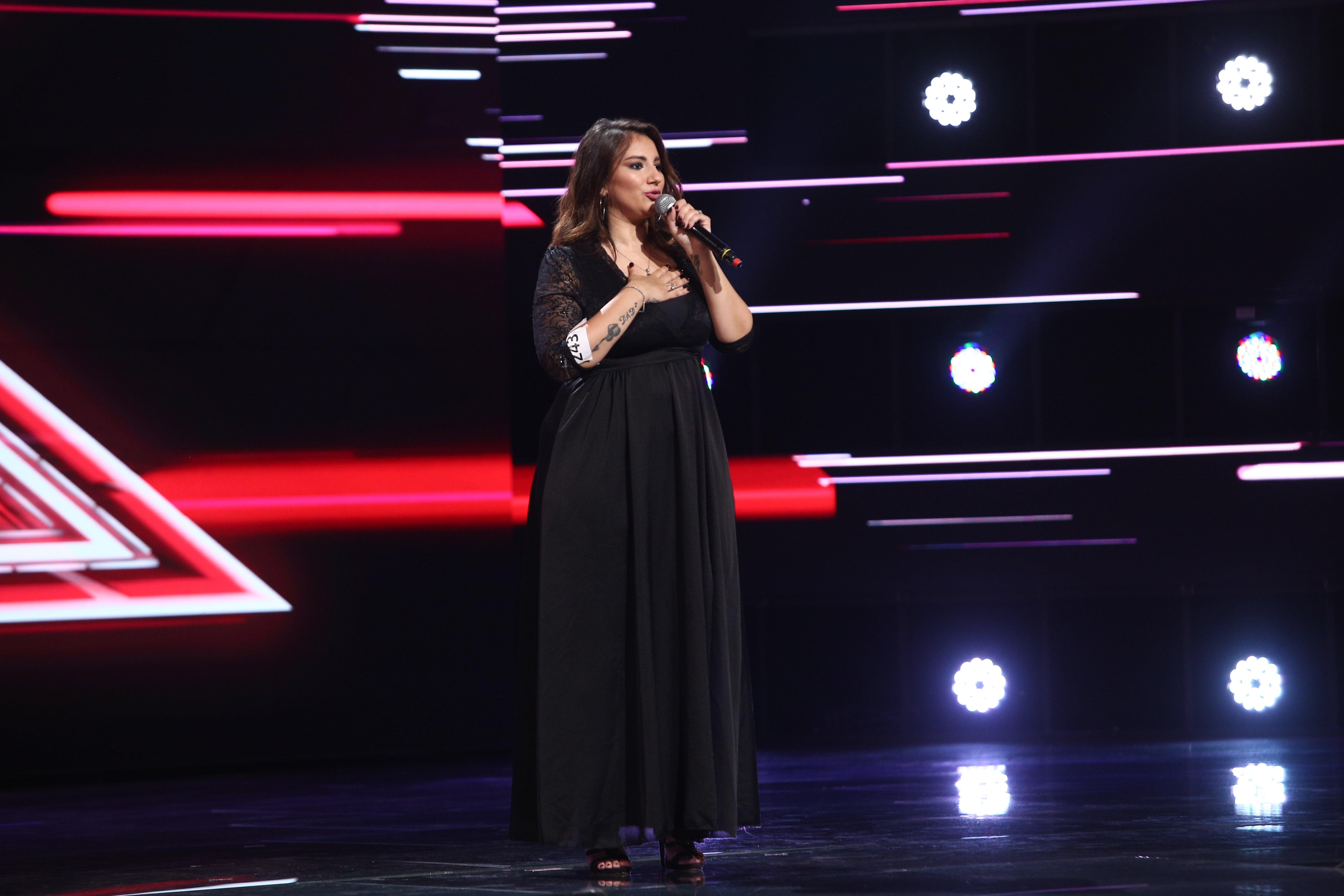"""X Factor 2021, 22 octombrie. Valentina Martucci a cântat impecabil """"You make me feel"""" de la Aretha Franklin. Ce au spus jurații"""