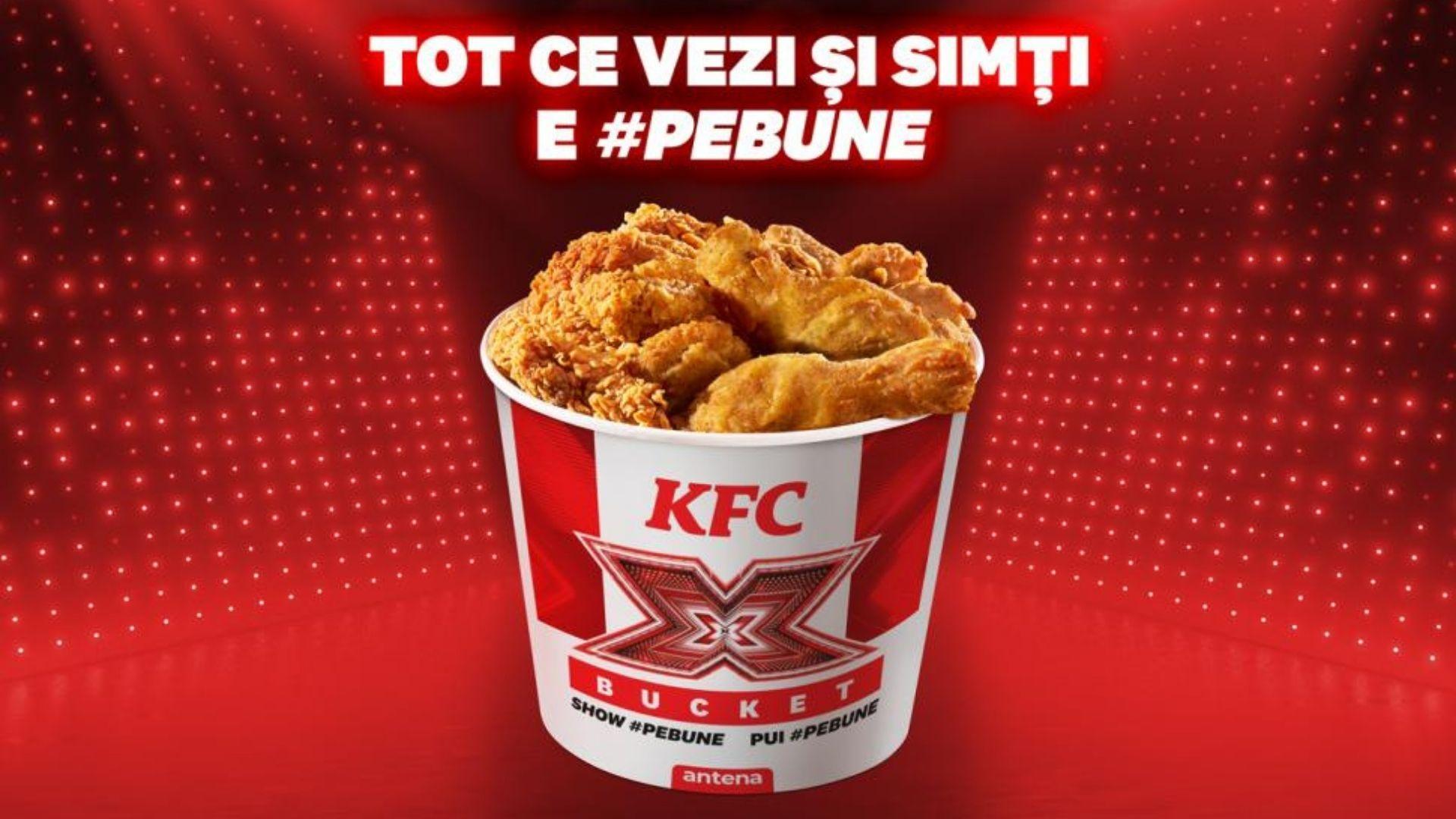 X Factor & KFC – două filosofii de brand #pebune