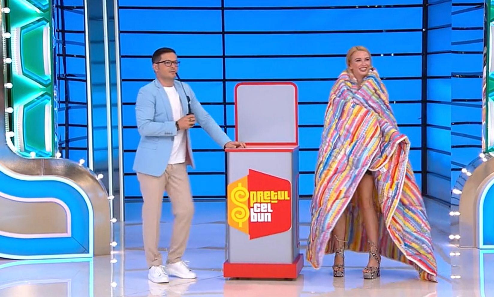 Prețul cel bun, 5 octombrie. Andrei Ștefănescu, glume pe seama înălțimii lui Liviu Vârciu. Ce i-a spus prezentatorului