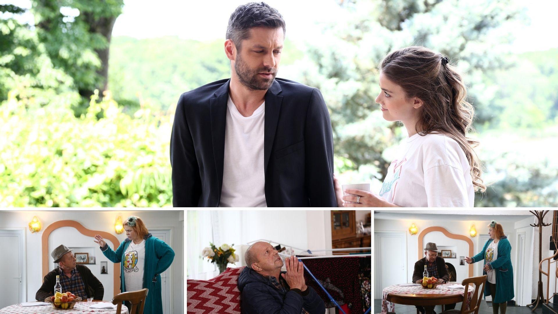 Serial Adela, sezonul 2, 7 octombrie 2021. Luca spune tot adevărul despre pozele compromițătoare. Cine părăsește casa Andronicilor