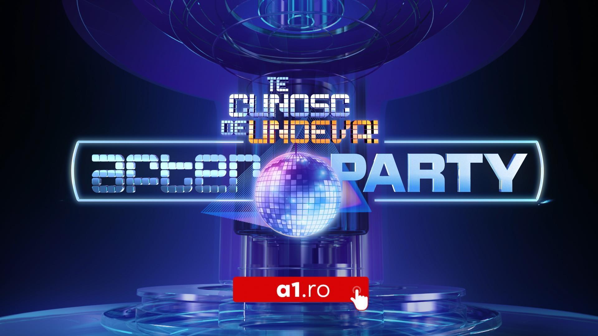 Dorian Popa îi invită pe telespectatori la Te cunosc de undeva! After Party, exclusiv pe site-ul a1.ro