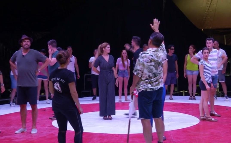Poftiți la circ, 24 februarie 2021. Nea Marin, transformat la repetiții înainte de marea finală la circ