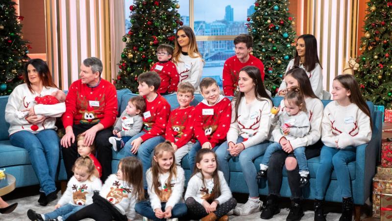 familia radford, craciun, show tv