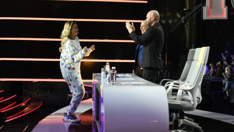 Mihai Bendeac și Delia dansând