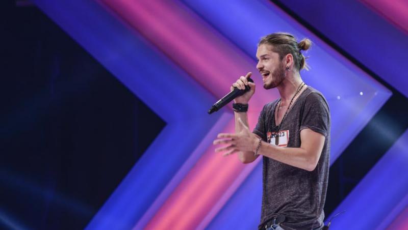 Alex Mațaev, în 2013, la audițiile X Factor