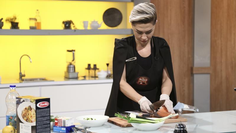 Ramona Erturk gătind la chefi la cuțite, sezonul 9