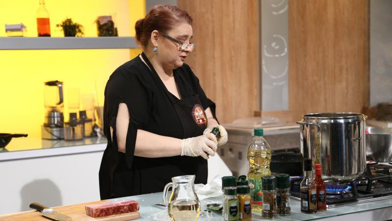 maria prună gătind la chefi la cuțite