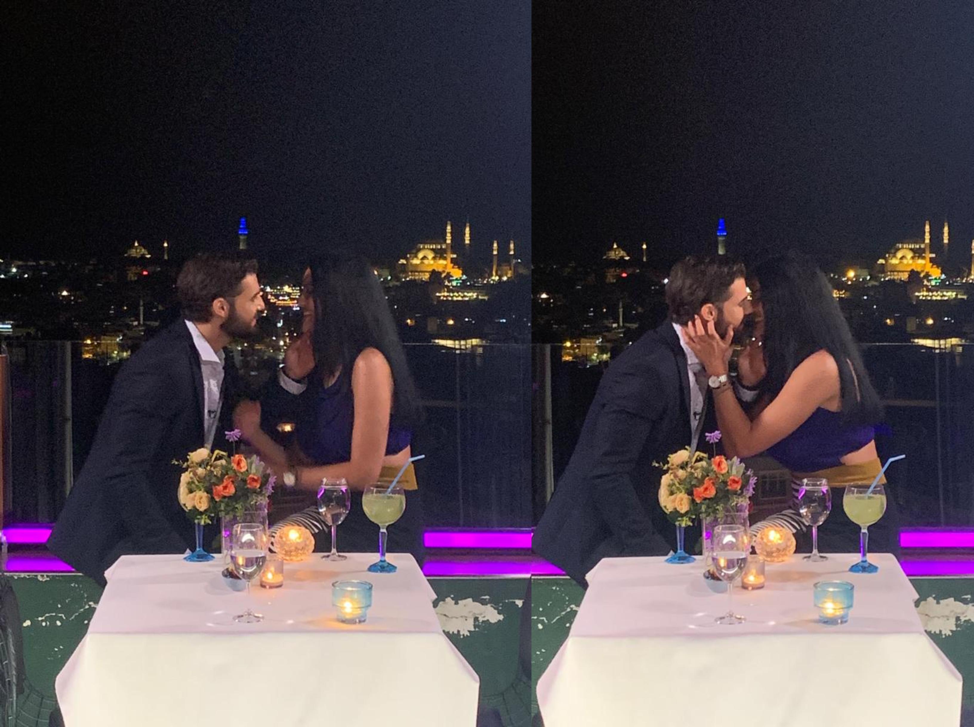 Burlacul 26 martie 2021. Andi Constantin a sărutat-o pe Simona Bălăceanu, dar ea a fost reticentă în ciuda dorinței sale