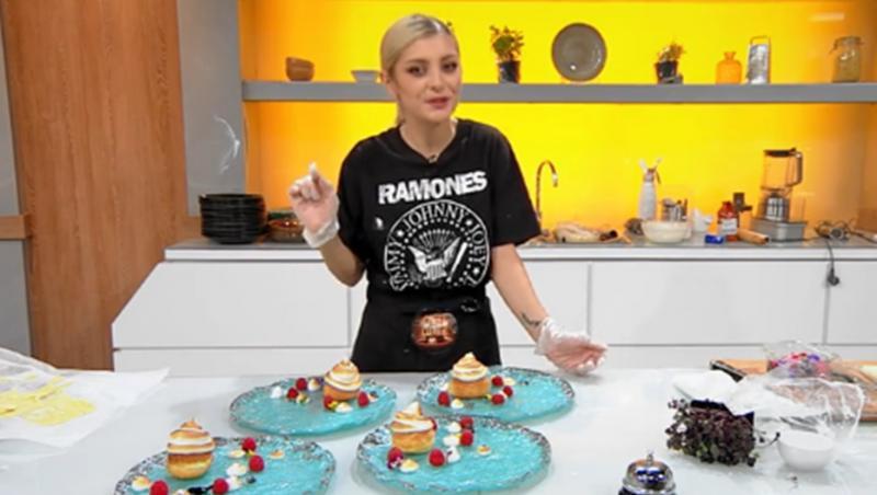 Elena Matei prezintă rețeta de Choux Craquelin la Chefi la cuțite