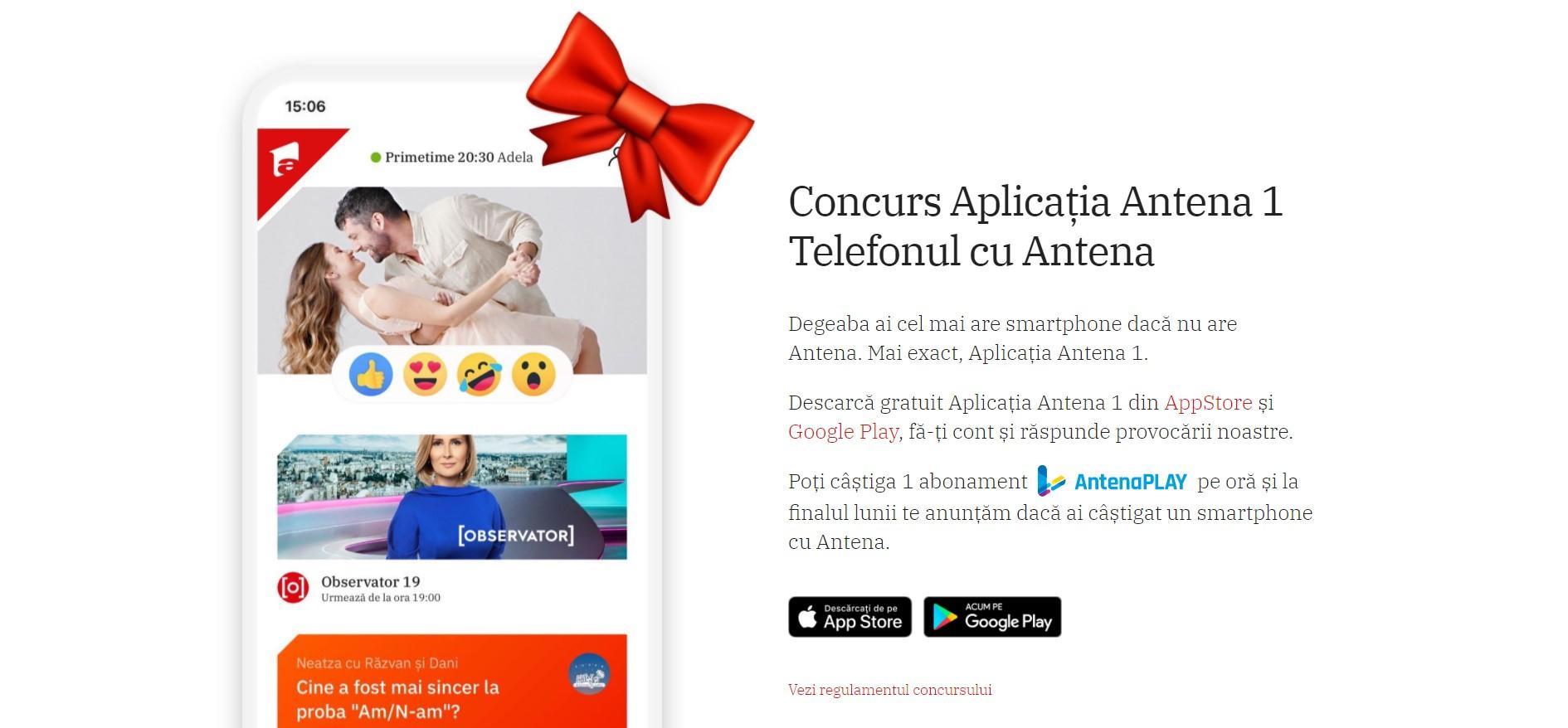 """Concursul """"Telefonul cu Antena"""" s-a încheiat! Cine a câștigat un smartphone"""