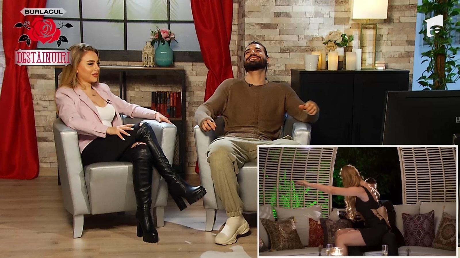 Burlacul - Destăinuiri, 2 aprilie 2021. Andi Constantin a vorbit despre plecarea Roxana Răpăilă și despre săruturile pasionale