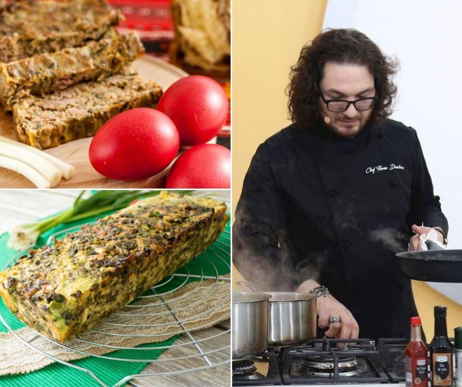 Rețeta de drob de Paște a lui Chef Florin Dumitrescu. Trucuri de la juratul Chefi la cuțite