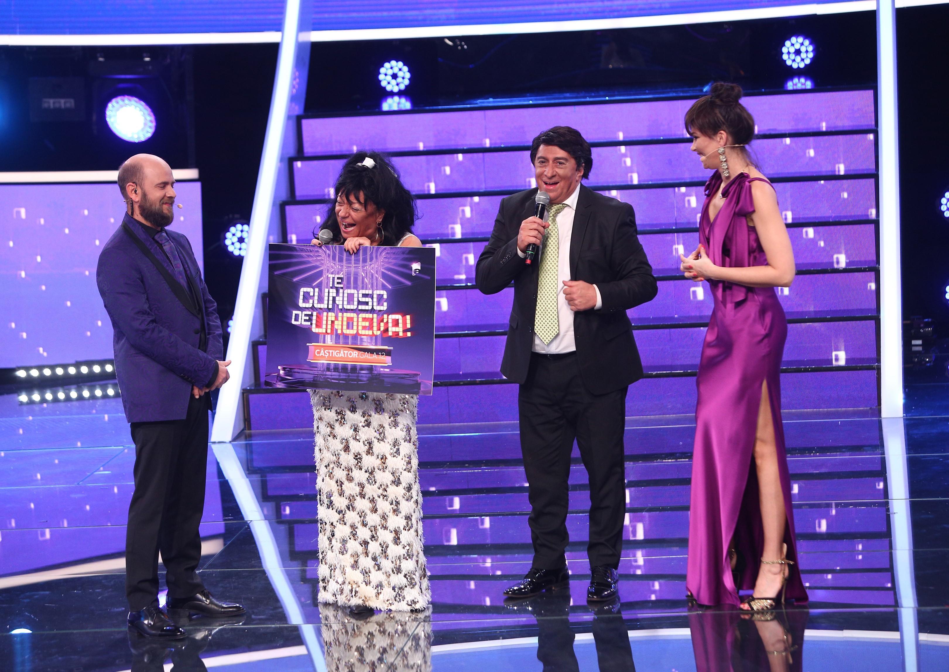 Te cunosc de undeva, 24 aprilie 2021. Adriana Trandafir și Romică Țociu au câștigat a XII-a ediție a sezonului 16